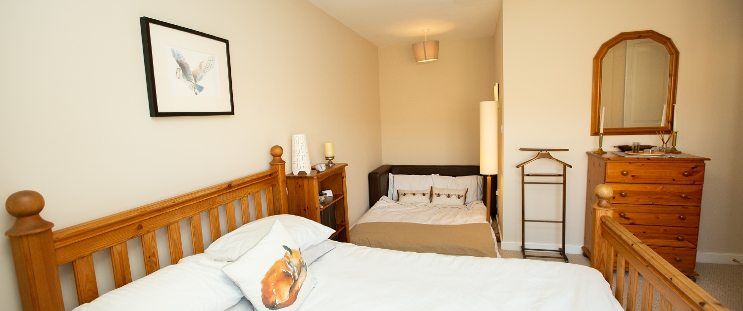 Sidings Cottage - available for holidays and B&B